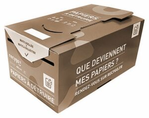 Solution de collecte papier et ccartons avec destruction